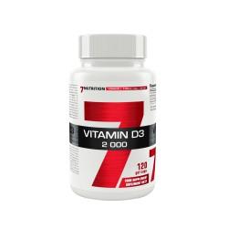7Nutrition Vitamin D3 2000 -120caps