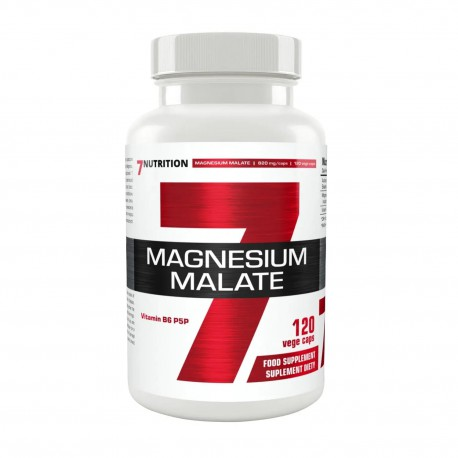 7Nutrition Magnesium Malate 120vcap