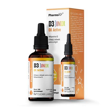 Pharmovit D3 Junior Oil Active 30ml