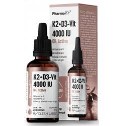 Pharmovit D3+K2 4000 Oil Active 30ml