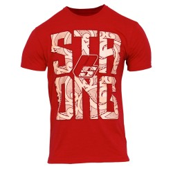 "Prosupps T-shirt STRONG ""L"" red"